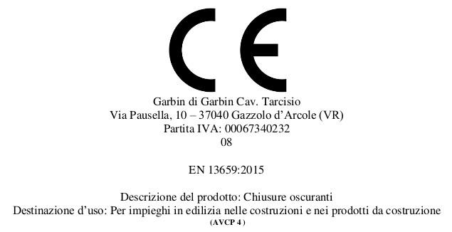 CE Garbin 2016